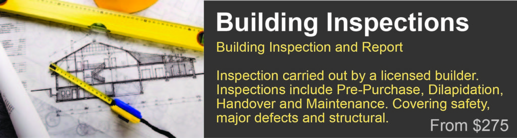 building inspection Shailer Park