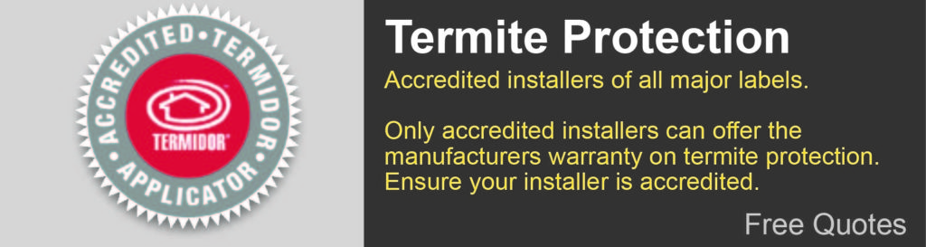 Termite protection Gold Coast