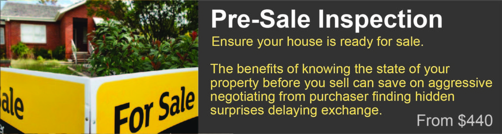 pre sale property inspection Lismore