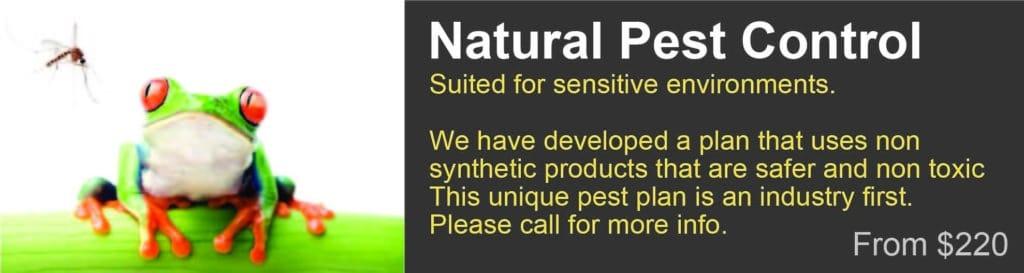 Natural Pest Control Information